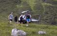 Pippa Middleton a venit la un eveniment caritabil cu elicopterul
