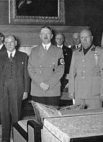 1938 - septembrie 29-30: Conferinta de la Munchen