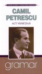 Act Venetian - eseu structurat