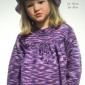 Cum sa crosetam o bluza colorata copilului nostru