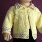 Cum sa tricotam in relief o bluza ajurata  pentru copilul nostru