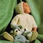 Cum sa tricotam in relief un costum atat pentru fetita noastra, dar si pentru baietelul nostru