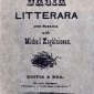 Dacia Literara Introductie