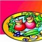 Iepure cu legume
