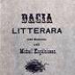 Introductie la Dacia Literara