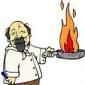 Mancare cu carne de porc si castraveti murati