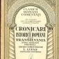 Marii cronicari ai secolului al XVII-lea si inceputul secolului al XVIII-lea