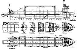 Nave pentru transportat marfuri containerizate - portcontainer