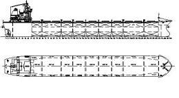 Nave pentru transportat marfuri in vrac - bulk-carrier