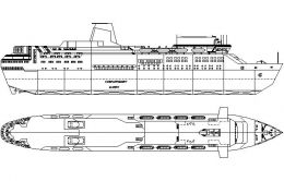 Nave pentru transportul pasagerilor - pasagere