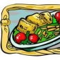 Porumbei cu sos de ciuperci si smantana
