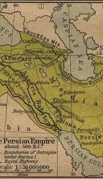 Referat despre inceputurile civilizatiei persane si perioada Ahemenida - prima parte
