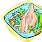 Rulouri de carne de porc umplute cu mezeluri