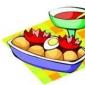 Salata de cartofi cu maioneza si smantana