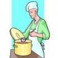 Tort glasat si garnisit