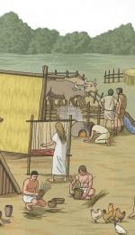 Viata unui om din neolitic